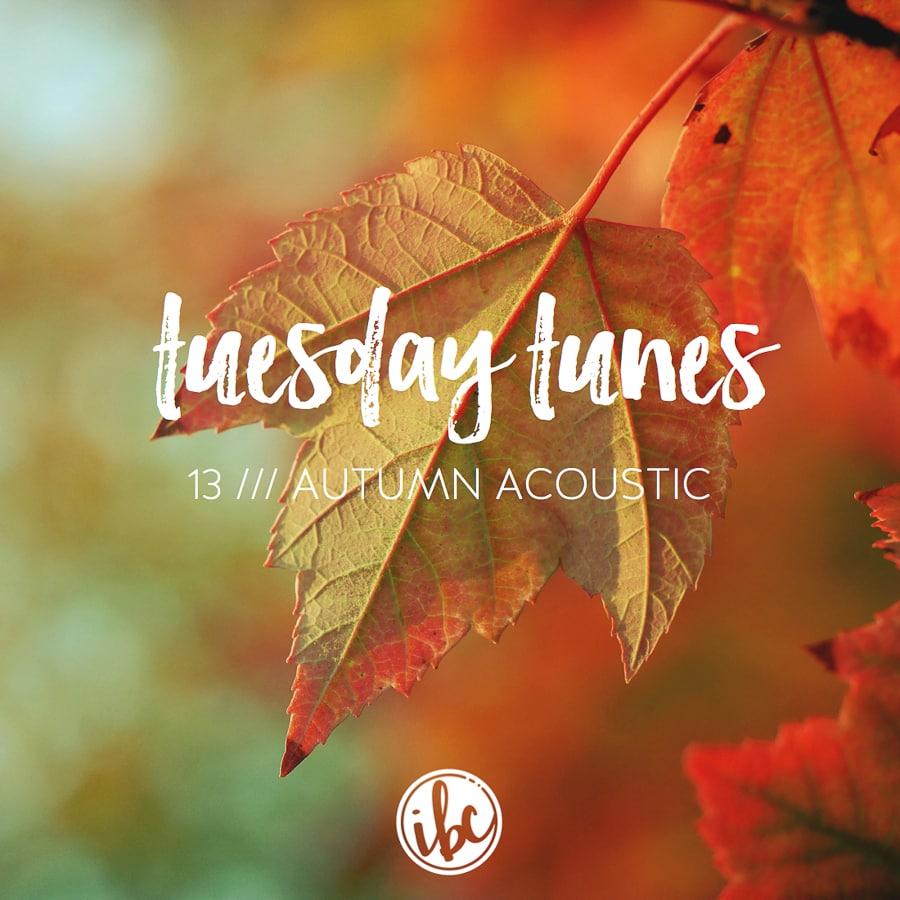 Tuesday Tunes 13 - Autumn Acoustic | inspiredbycharm.com