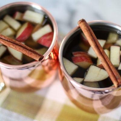 Apple Cinnamon Hot Toddy | inspiredbycharm.com