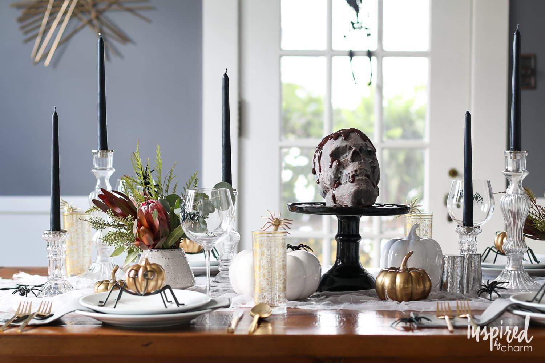 haunted halloween table decor ideas entertaining