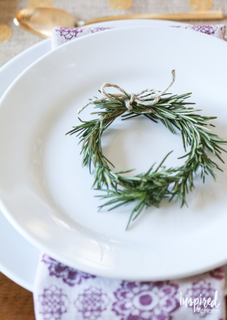Styling Your Thanksgiving Table   inspiredbycharm.com