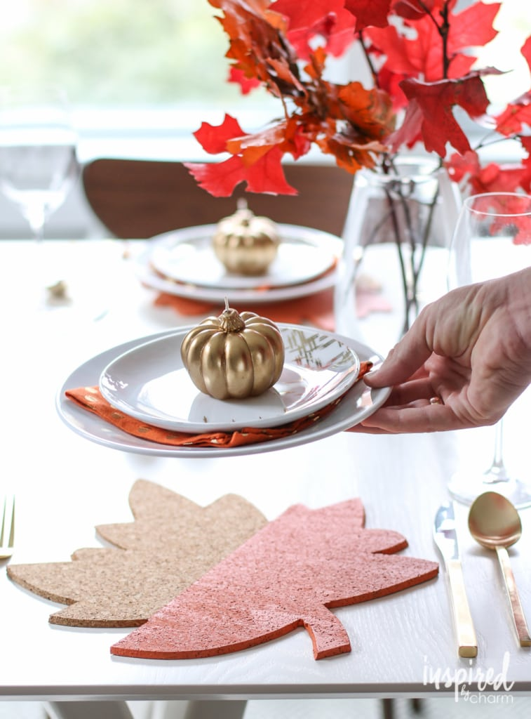 Styling Your Thanksgiving Table | inspiredbycharm.com
