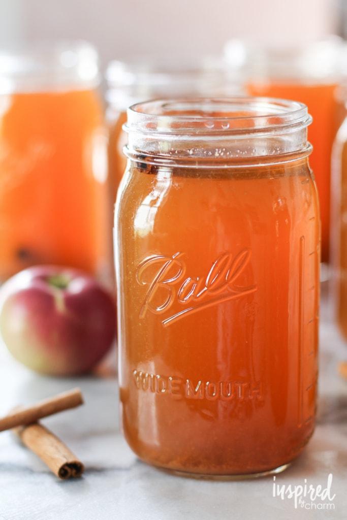 Learn how to make homemade Apple Pie Moonshine with this easy #recipe! #homemade #apple #pie #moonshine