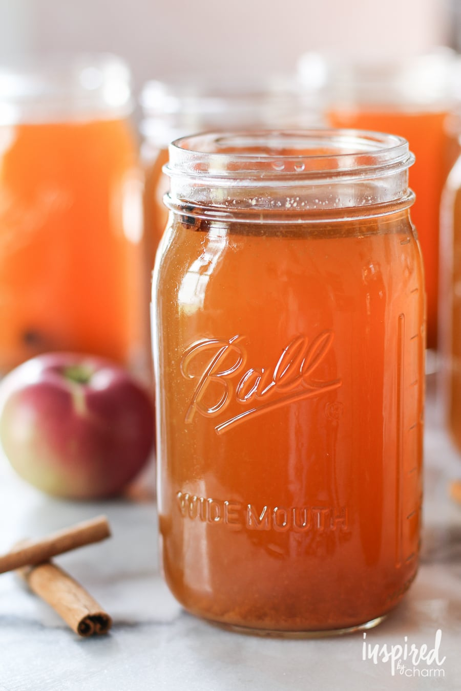 Learn how to make homemade Apple Pie Moonshine with this easy #recipe! # homemade