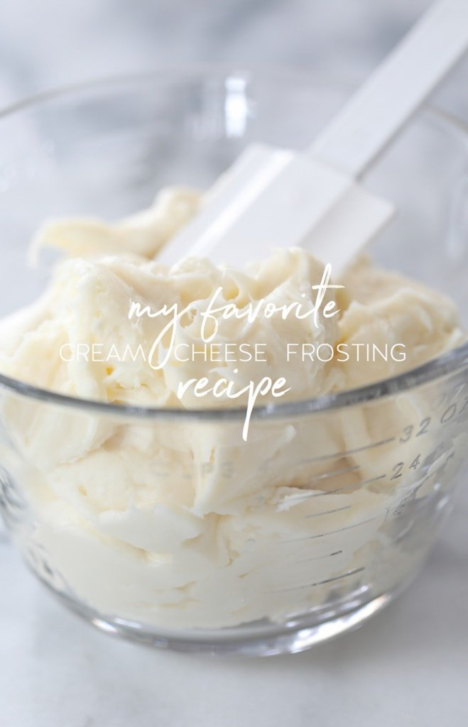 My Favorite Cream Cheese Frosting | inspiredbycharm.com
