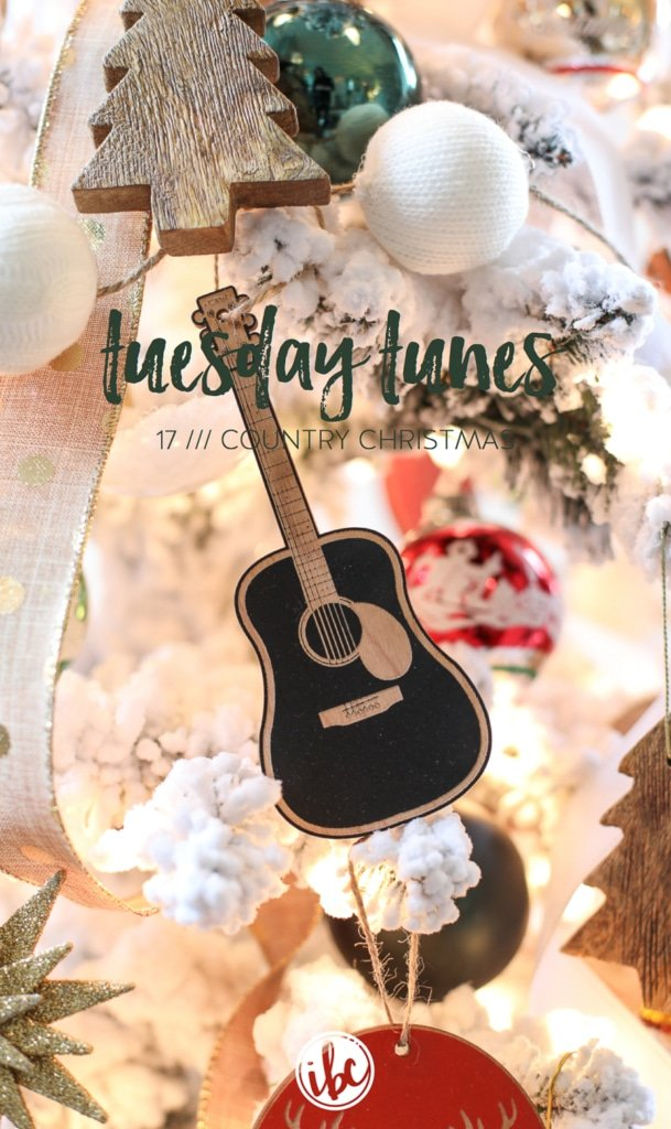 Tuesday Tunes / 17 - Country Christmas | inspiredbycharm.com
