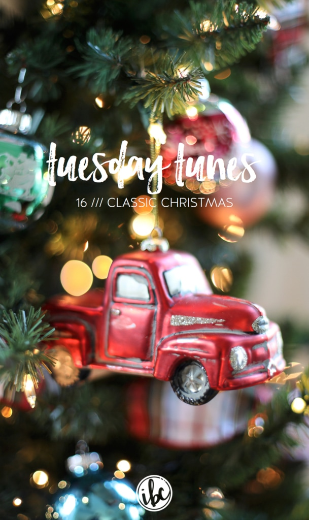 Tuesday Tunes / 16 - Classic Christmas | inspiredbycharm.com