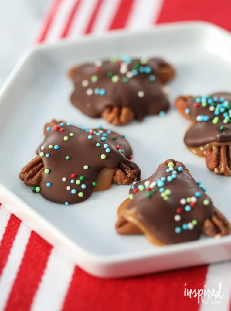 Salted Turtle Candies | Inspired by Charm