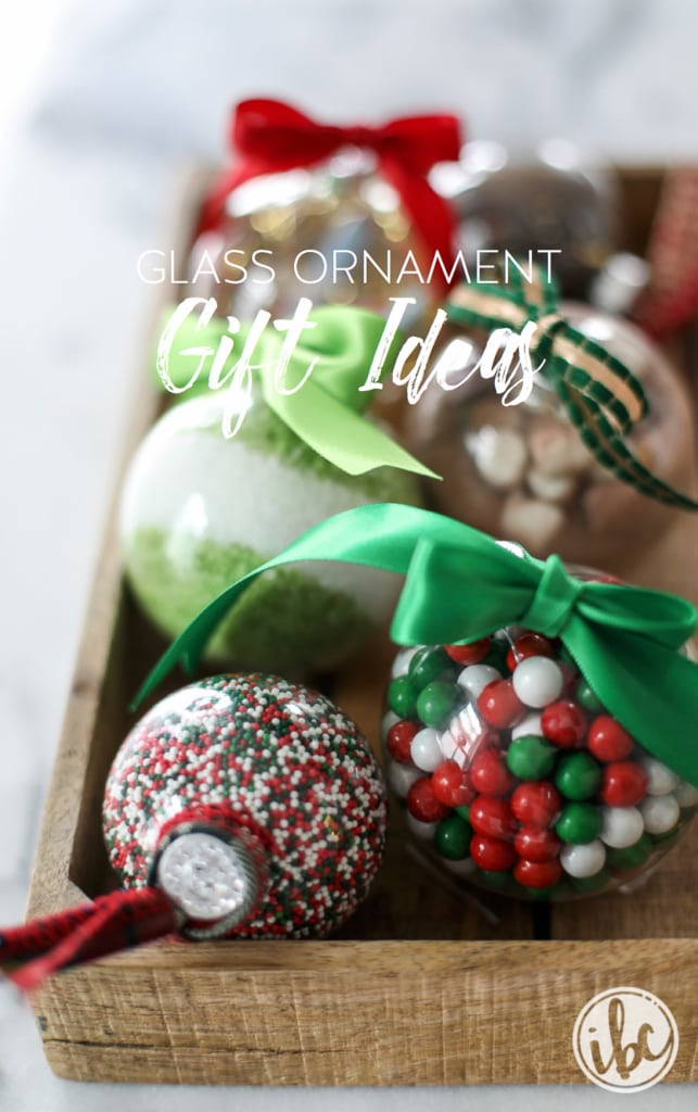 Holiday Gifting with Clear Glass Ornaments | inspiredbycharm.com