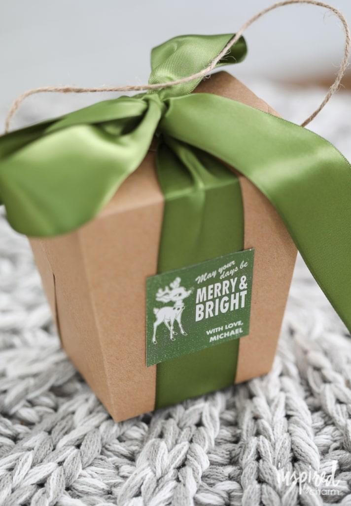 Personalized Holiday Gift Wrap Ideas   inspiredbycharm.com