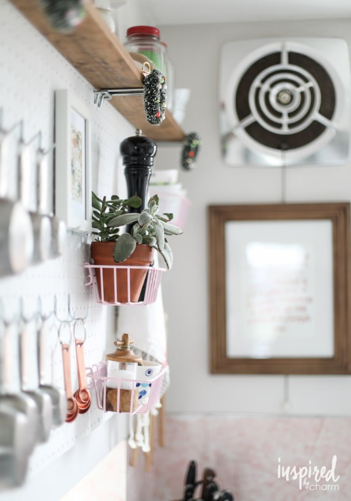 Holiday Decorating Kitchen Christmas Decorations | inspiredbycharm.com