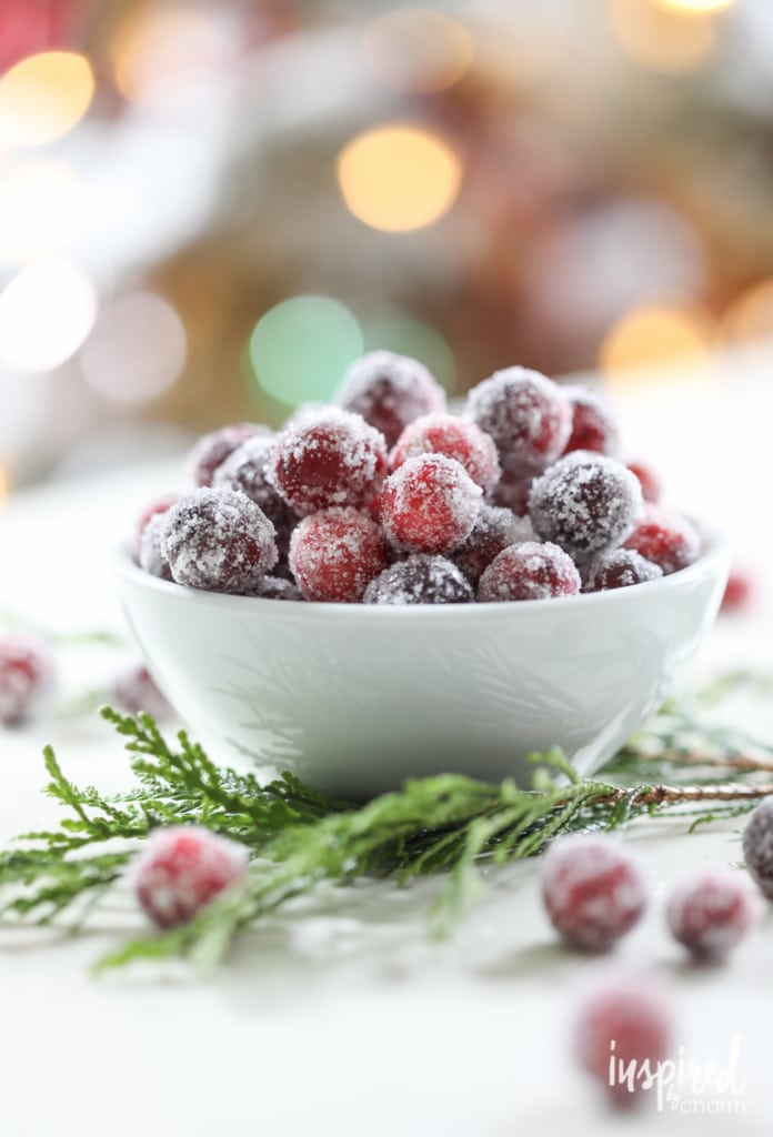 Sugared Cranberries #sugared #cranberries #dessert #holiday #christmas #thanksgiving #recipe