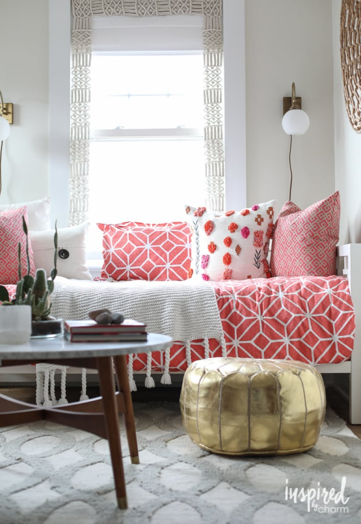 Upstairs. Refreshed. | Inspired by Charm