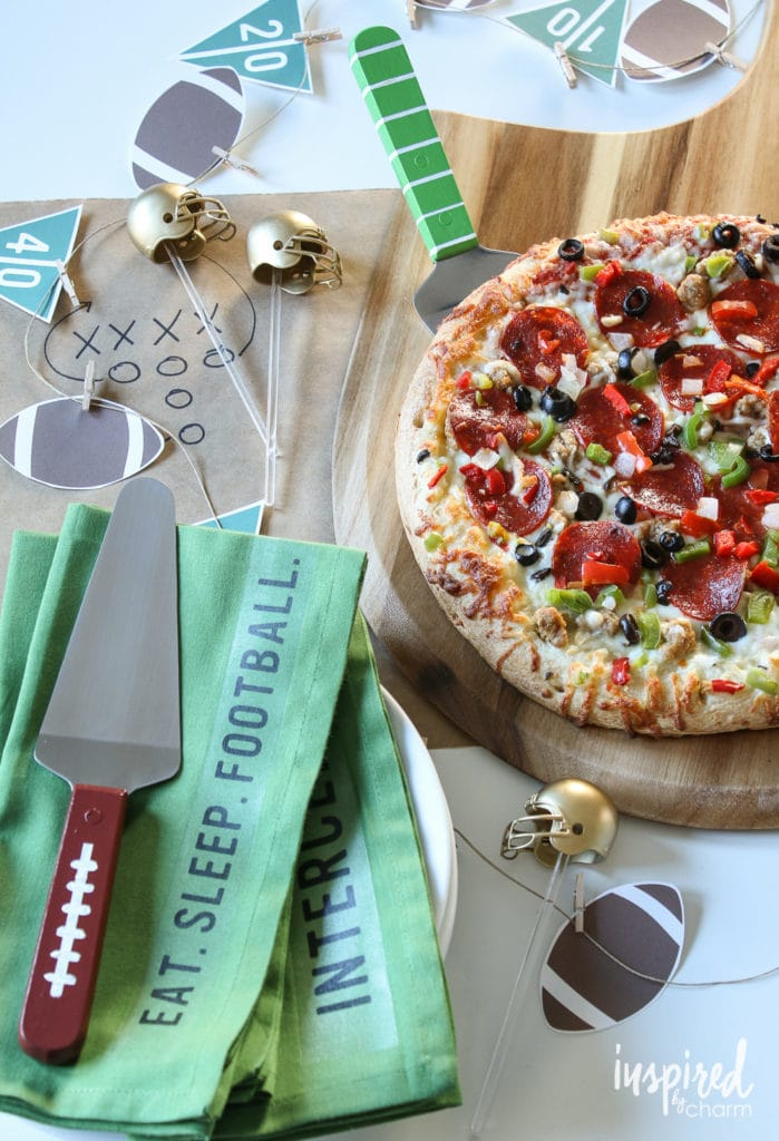 DIY Football Party Ideas - Eight Game-Winning Appetizer Recipes | Inspired by Charm