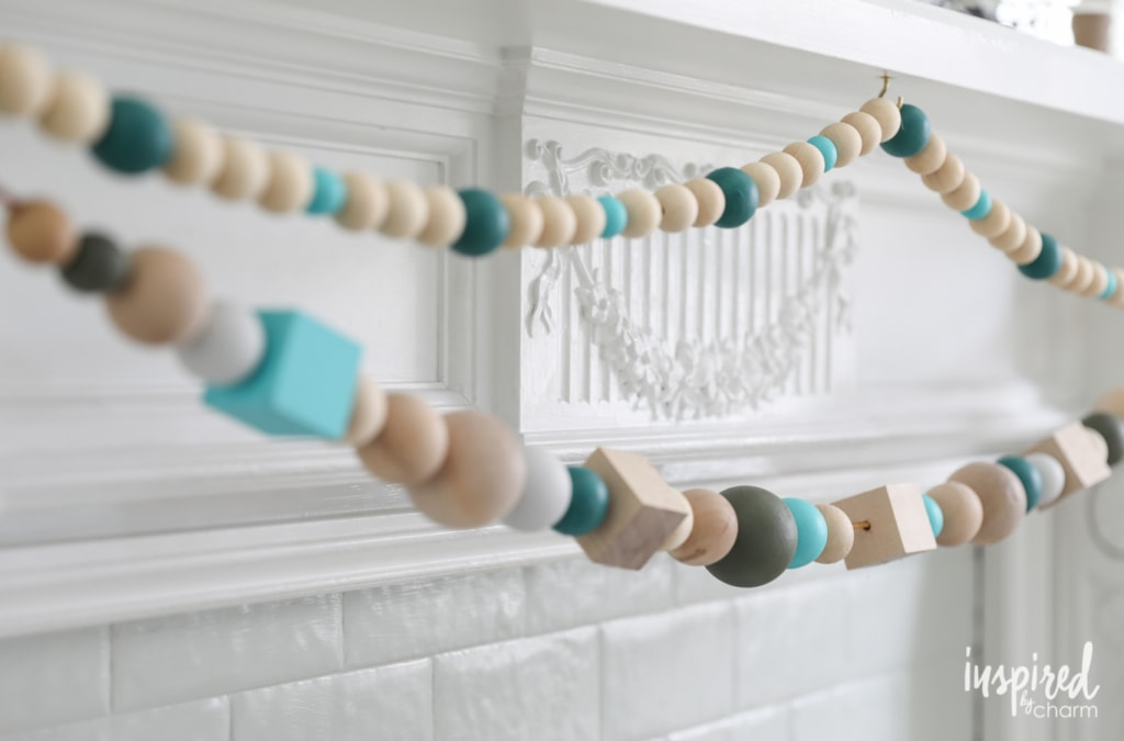 DIY Wood Styling Beads create colorful Scandinavian style with this colorful project.