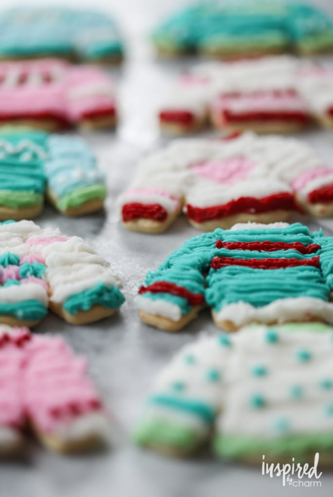 Sweater Weather Sugar Cookies | Inspired by Charm