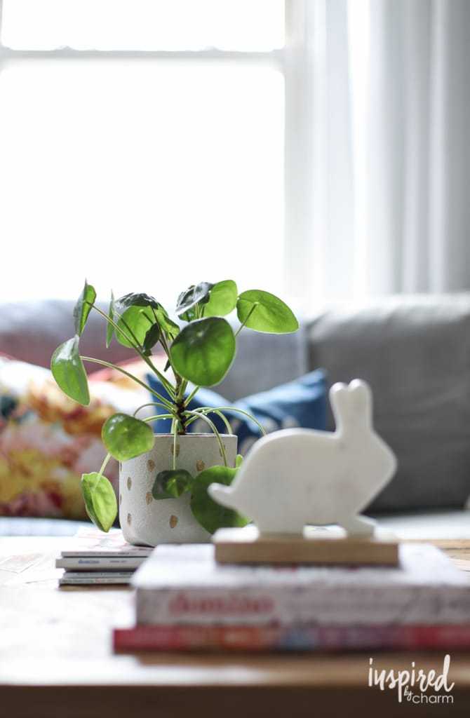 Spring Living Room Refresh | Inspired by Charm