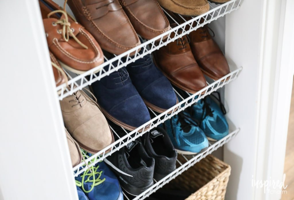 DIY Custom Shoe Storage | Inspired by Charm