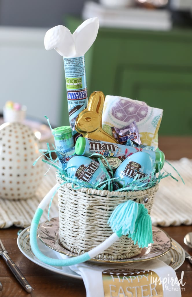 Easter Entertaining Ideas | Spring Tablescape and Easter Basket Tips