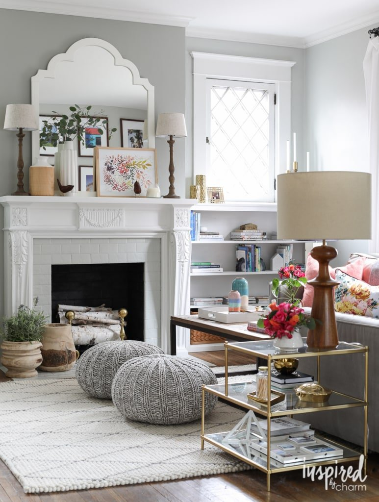 Tips for updating your living room for Spring! - Spring Living Room Refresh | Inspired by Charm