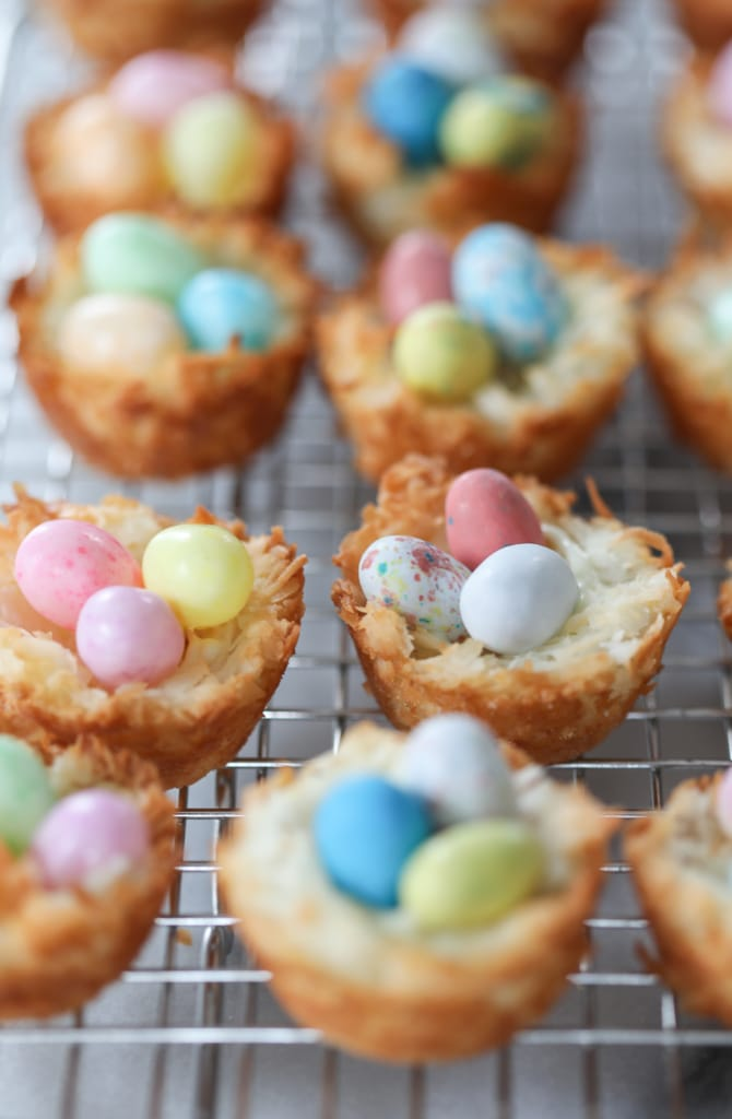 Coconut Macaroon Nests | Inspired by Charm