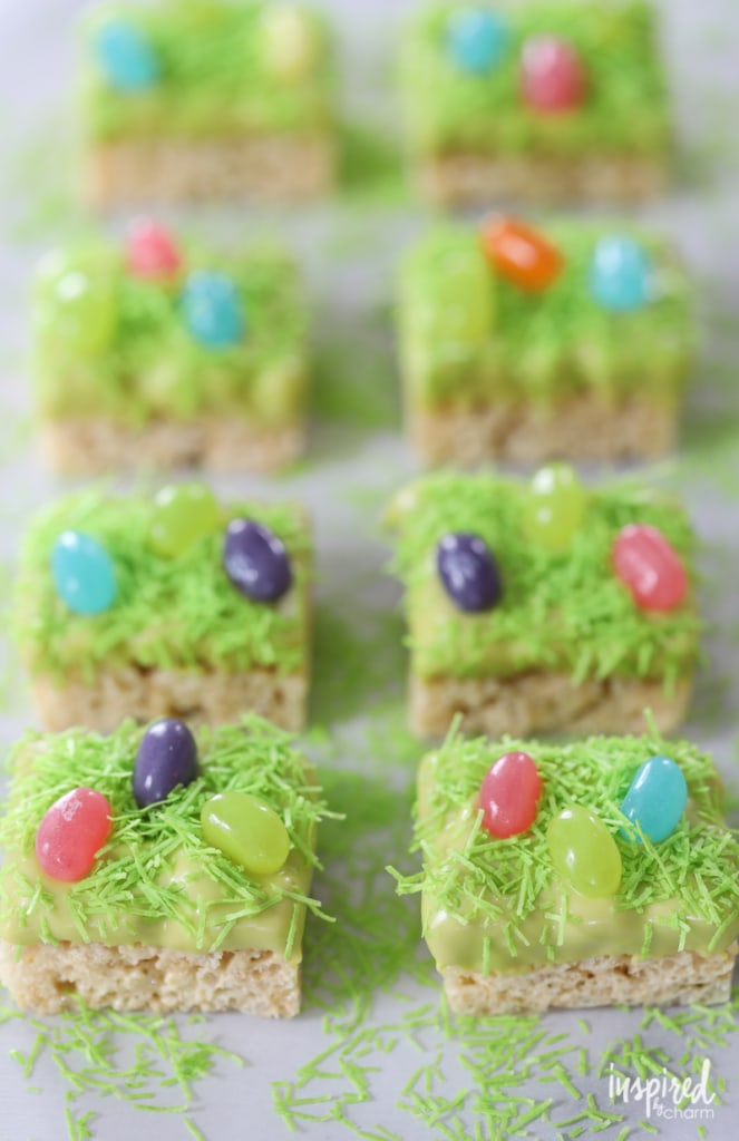 Easter Dessert Kabobs - Egg Hunt Rice Krispies - easter dessert recipe | Inspired by Charm