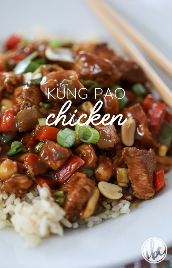 The Best Homemade Kung Pao Chicken recipe | Inspired by Charm