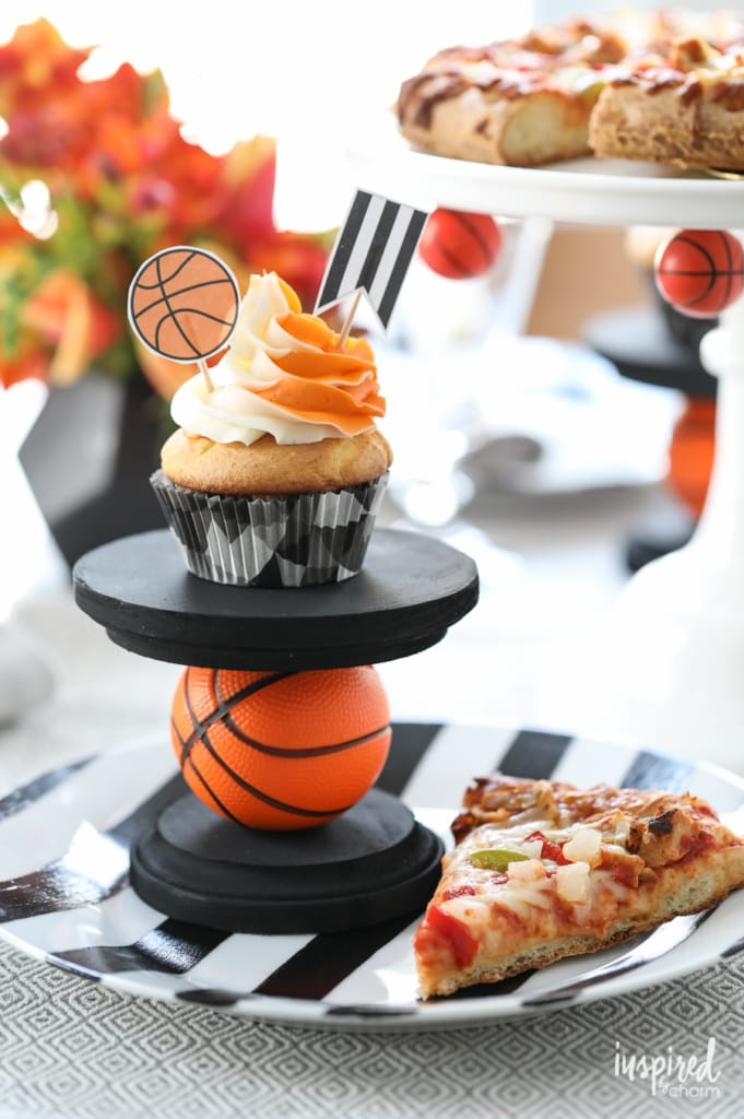 DIY Basketball Entertaining Ideas | Inspired by Charm