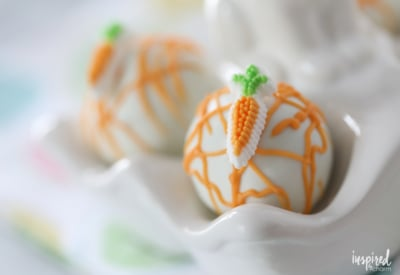 Carrot Cake Truffles - easy spring or easter dessert recipe idea - carrot cake pops | Inspired by Charm