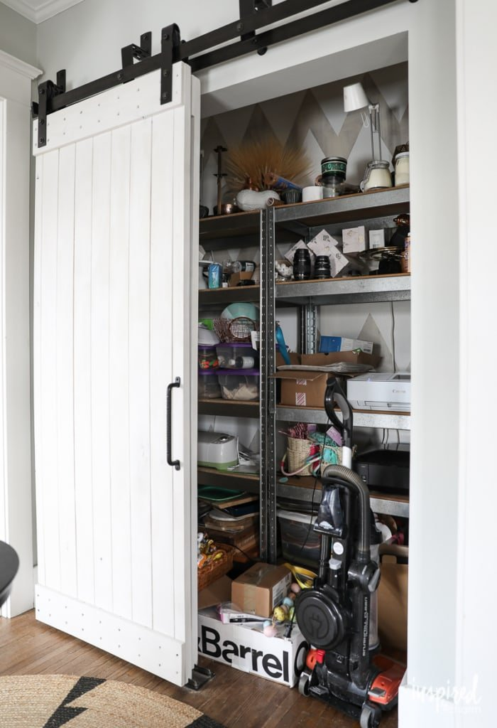 Beginnings of a Craft Closet | Inspired by Charm