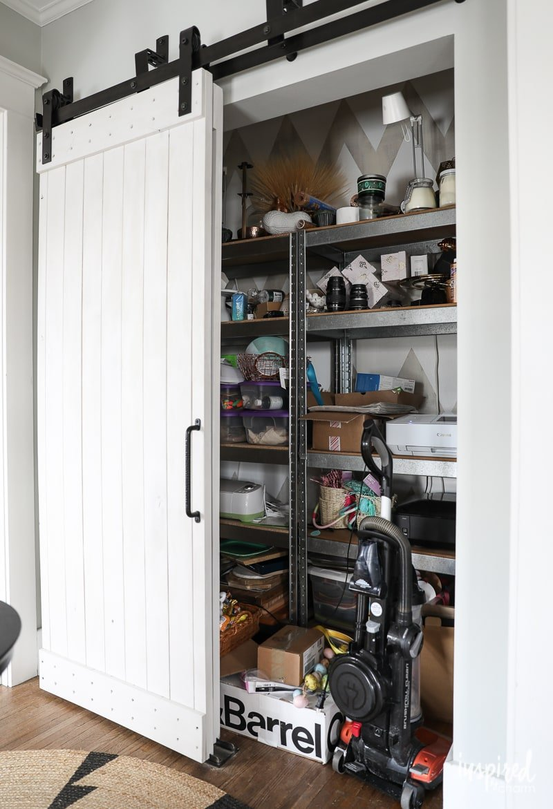 Beginnings Of A Craft Closet Inspired By Charm