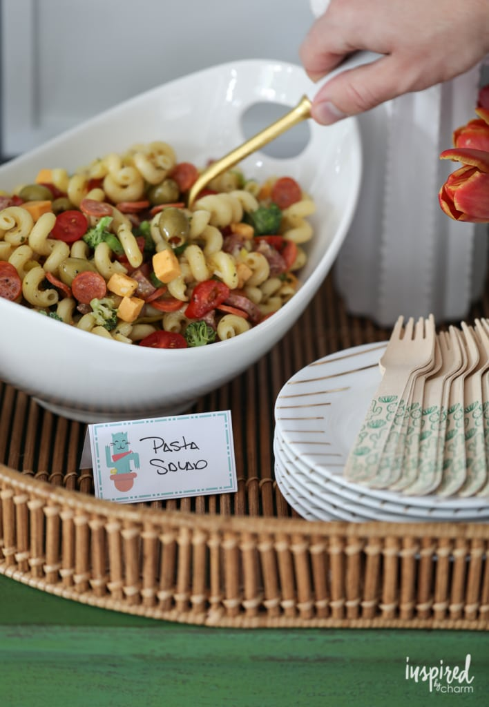 Really Good Pasta Salad - the perfect summer side dish | Inspired by Charm