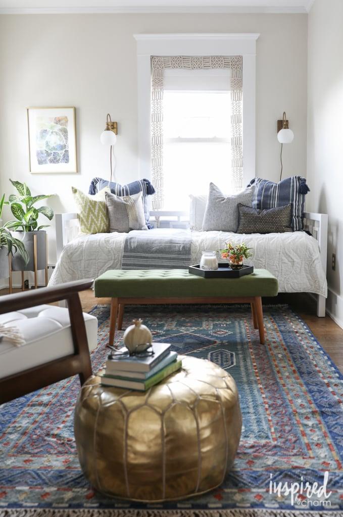 Color Lovers, Guest Bedroom, Makeover, Color Makeover, Bedroom, Design, Bedroom, Mid-Century Modern, Modern, Eclectic