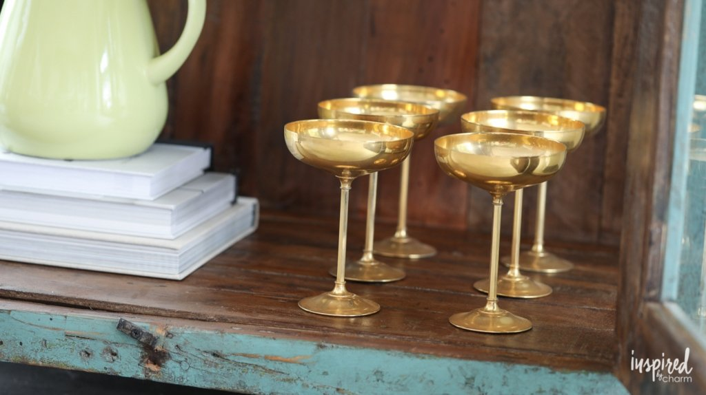 Tips to Create a Simple and Stylish Beverage Station | Inspired by Charm