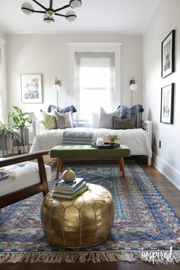 Color Lovers, Guest Bedroom, Makeover, Color Makeover, Bedroom, Design, Bedroom, Mid-Century Modern, Modern, Eclectic