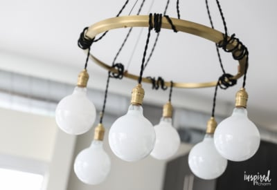 Updated Apartment Lighting - unique and stylish chandeliers to decorate your apartment | Inspired by Charm