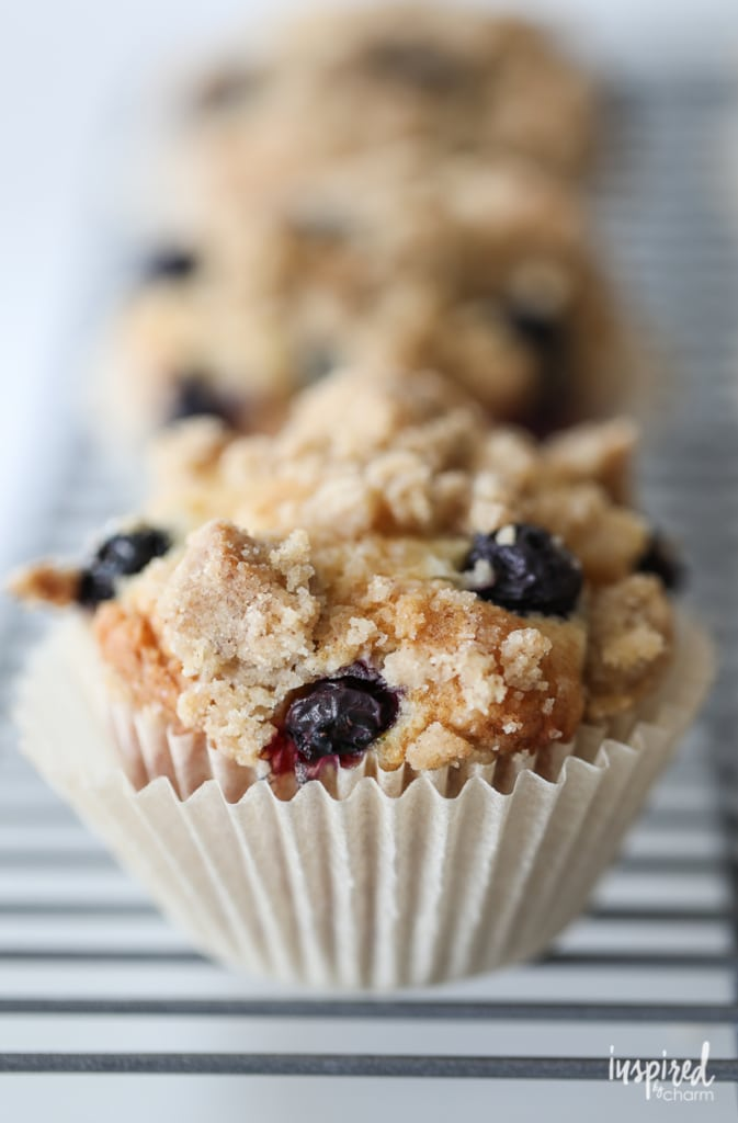 Really Good Blueberry Muffins recipe for breakfast, brunch, or anything in-between!