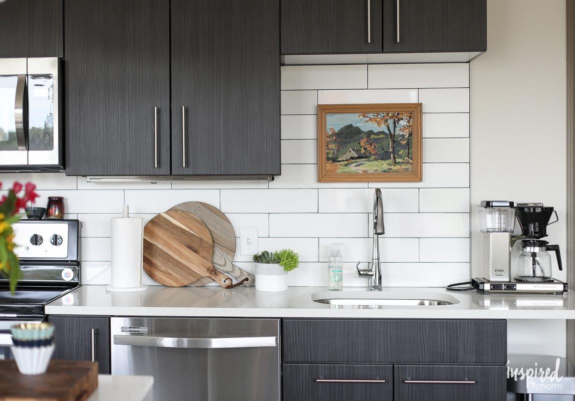 Apartment Kitchen Decor Ideas drab to fab: apartment kitchen decor - inspiredcharm
