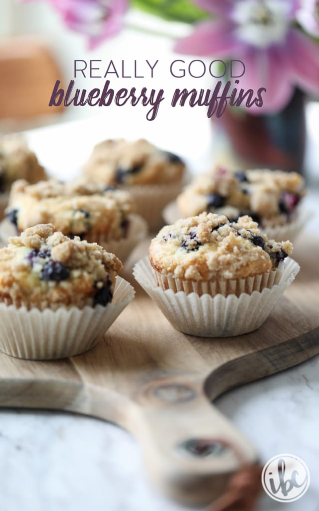 This Really Good Blueberry Muffins recipe is the best treat for breakfast, brunch, or afternoon snack.