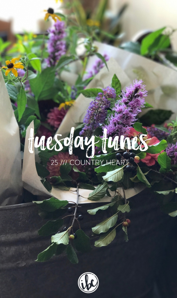 Tuesday Tunes / 25 - Country Heart | Inspired by Charm Country Playlist