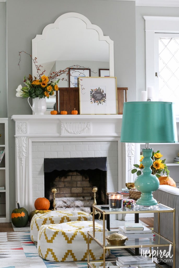 Inspired by Charm Fall Home Tour - Favorite Fall Decor Ideas