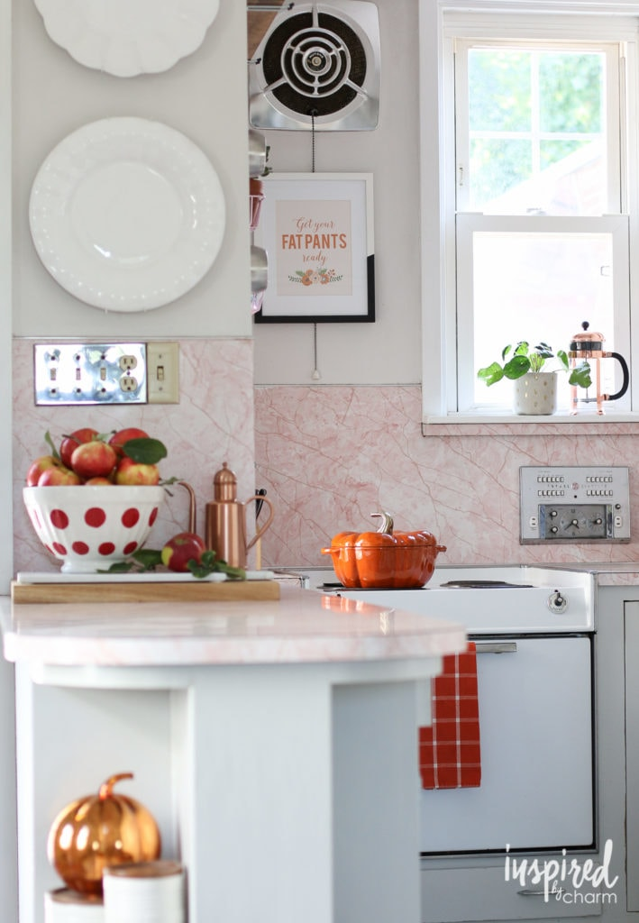 Fall Kitchen Decorating Ideas - Favorite Fall Decor Ideas   Inspired by Charm