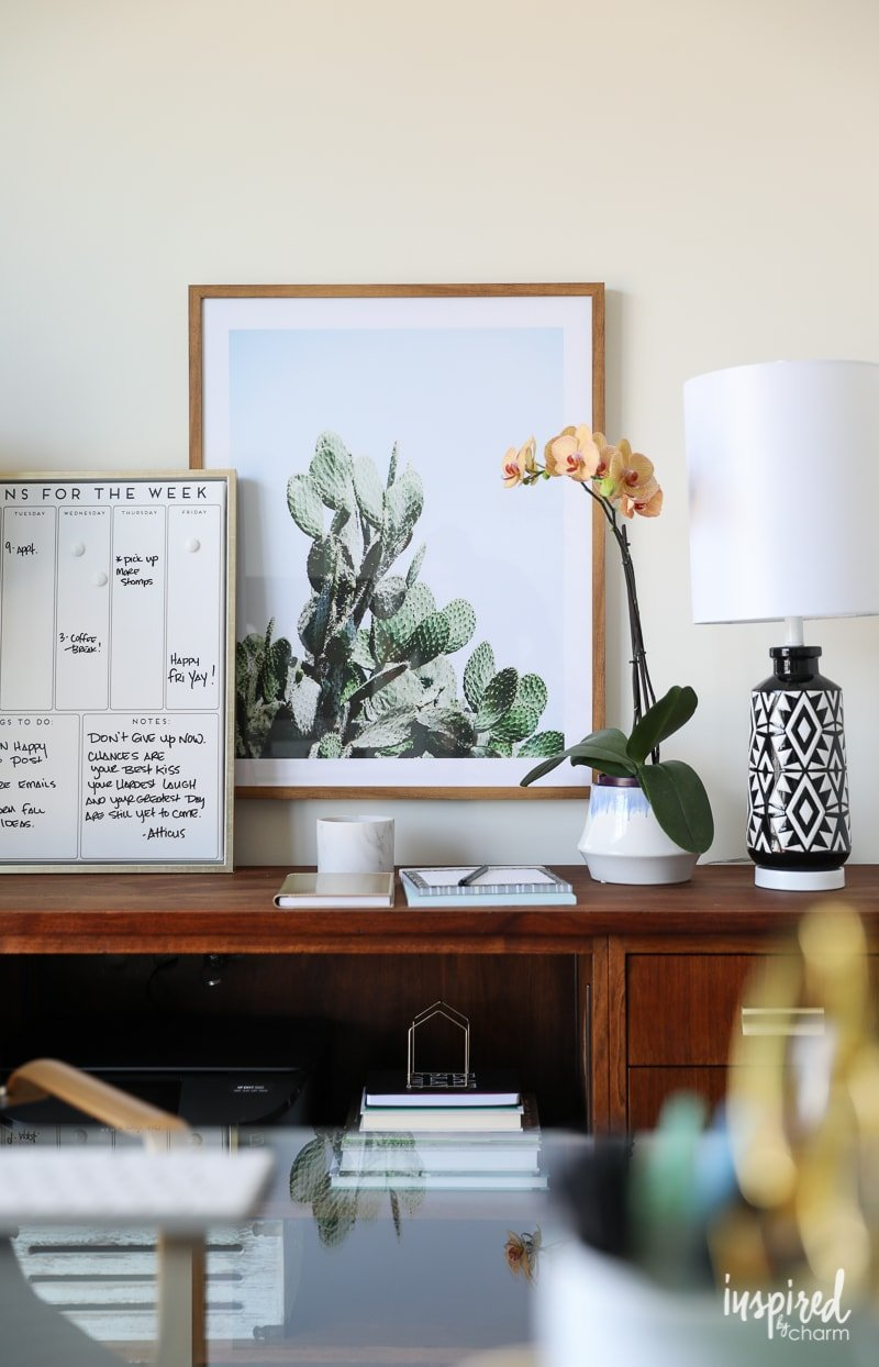 Decorating A House Part - 40: Tips And Ideas For Decorating A Home Office | Inspired By Charm
