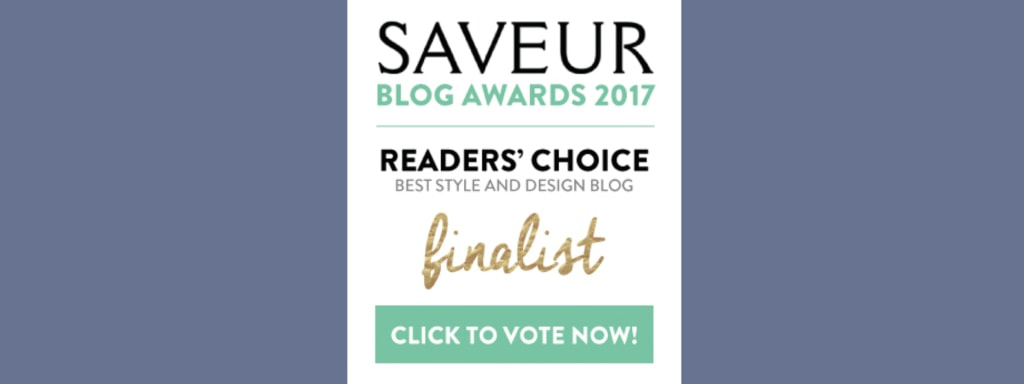 Saveur Blog Awards - Inspired by Charm