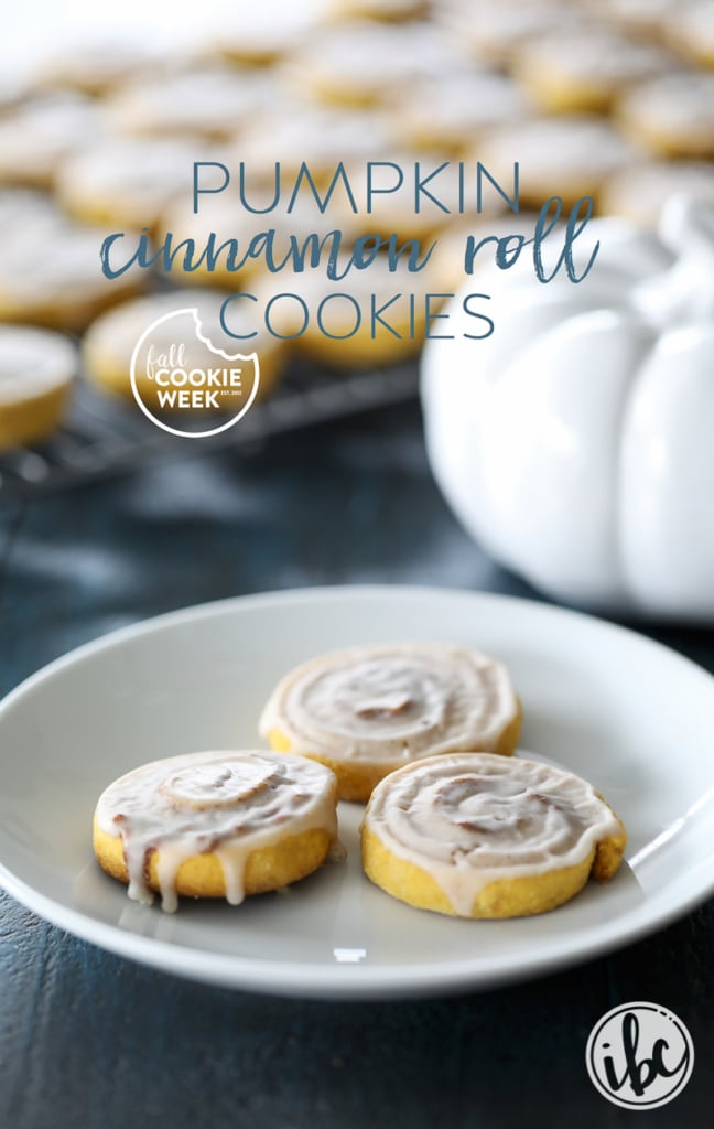 These Pumpkin Cinnamon Roll Cookies will add seasonal flavor and fun to your fall baking.