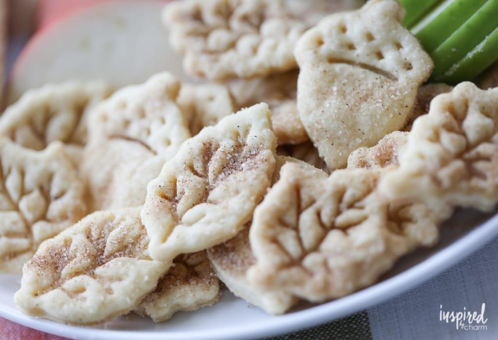 Cinnamon Sugar Pie Crust Cookies   Inspired by Charm