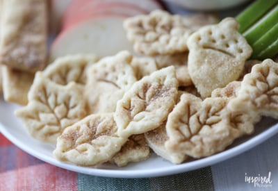 Cinnamon Sugar Pie Crust Cookies | Inspired by Charm