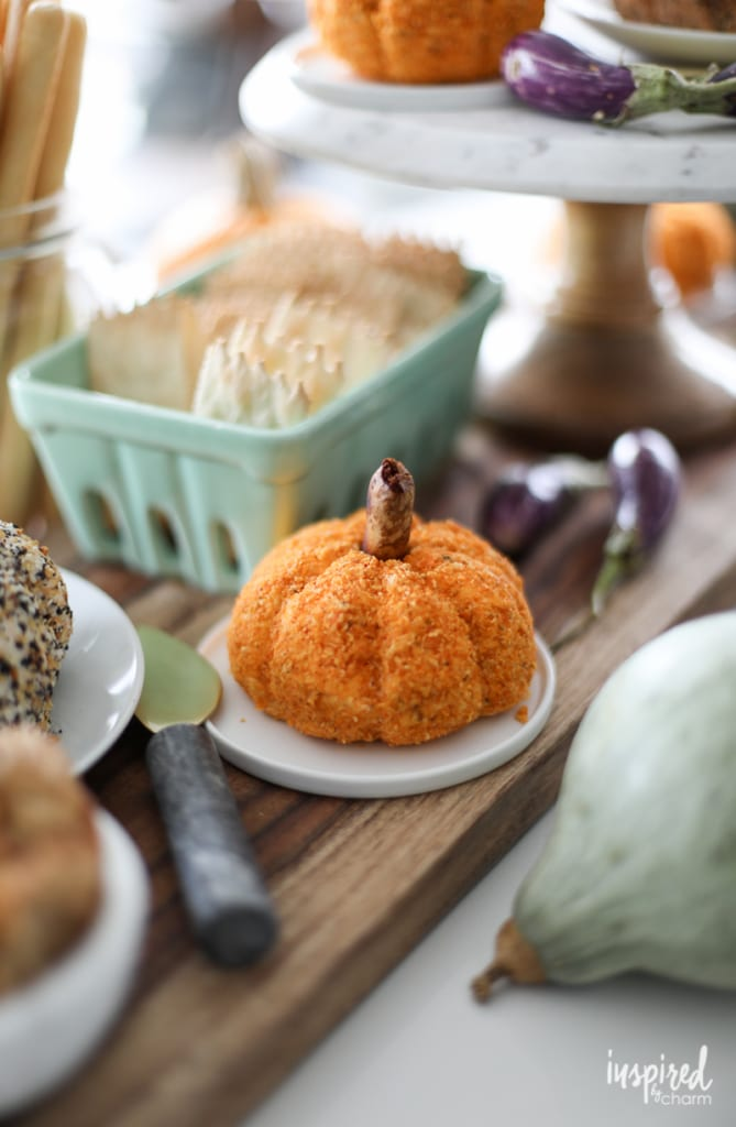 Everything Bagel Cheeseball and Sun-Dried Tomato Cheeseball | Inspired by Charm