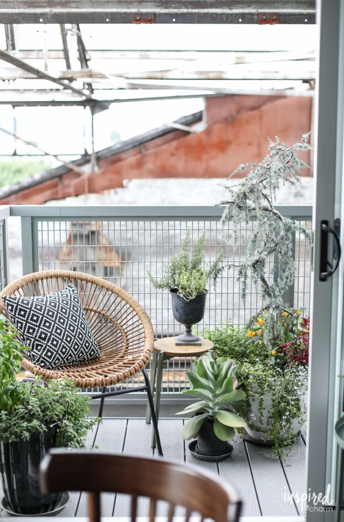 My Apartment Balcony - small space apartment balcony decor and style ideas. | Inspired by Charm
