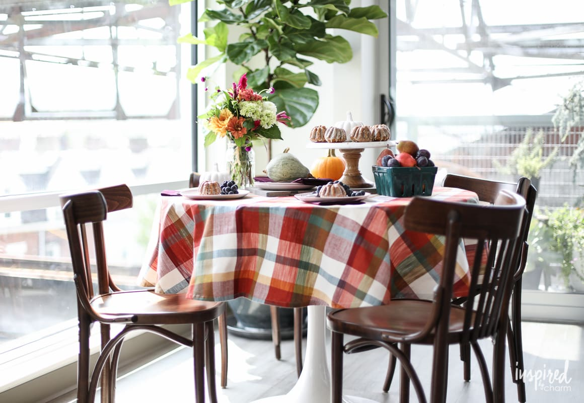 Colorful Fall Entertaining