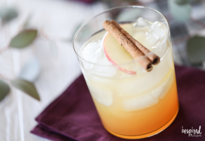 These Harvest Apple Mules are the perfect seasonal cocktail for fall.